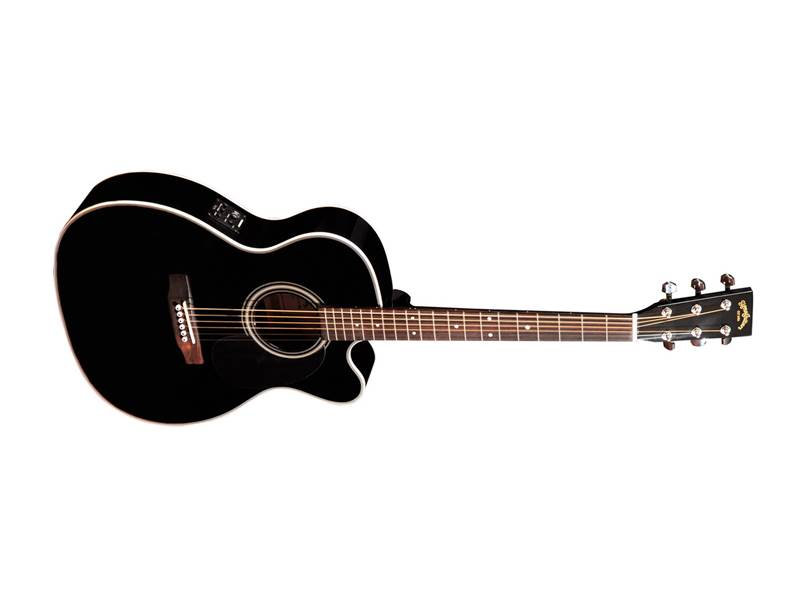 Sigma Guitars 000MC-1STE-BK | Orchestra, Auditorium - 1