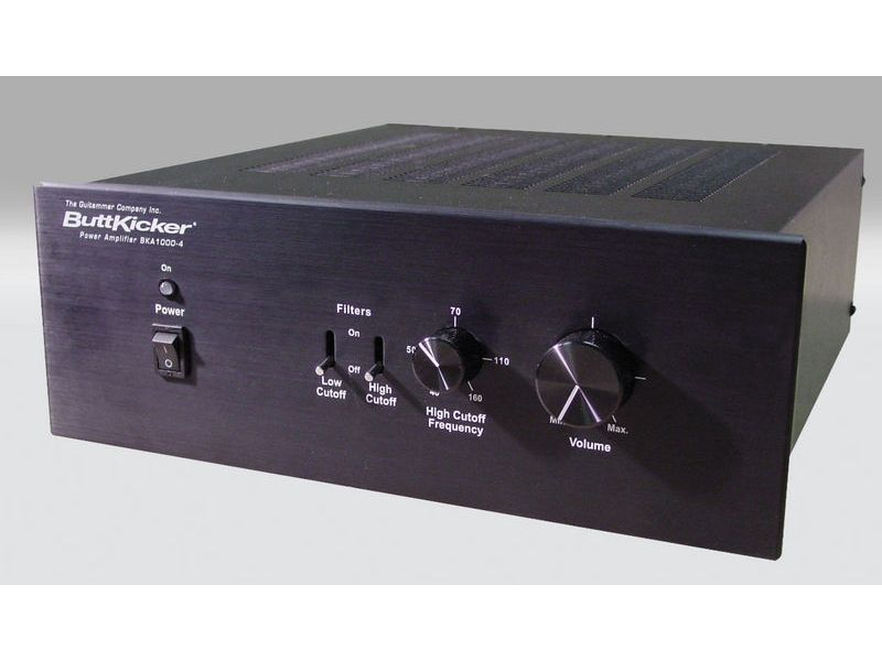 Fischer Amps  ButtKicker Amplifier BKA 1000-4 | Komponenty pro In-Ear monitoring - 1