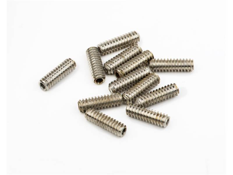 FENDER šroubky BASS SADDLE HEIGHT SCREWS HEX 6-32x7/16 sada | Baskytarový hardware - 1