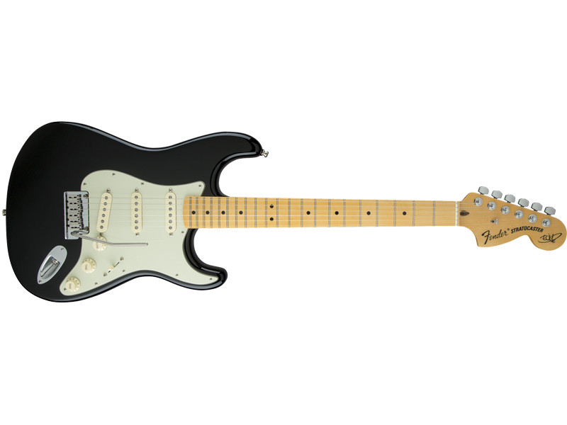 FENDER THE EDGE STRAT MN BLACK | Kytary typu Strat - 1