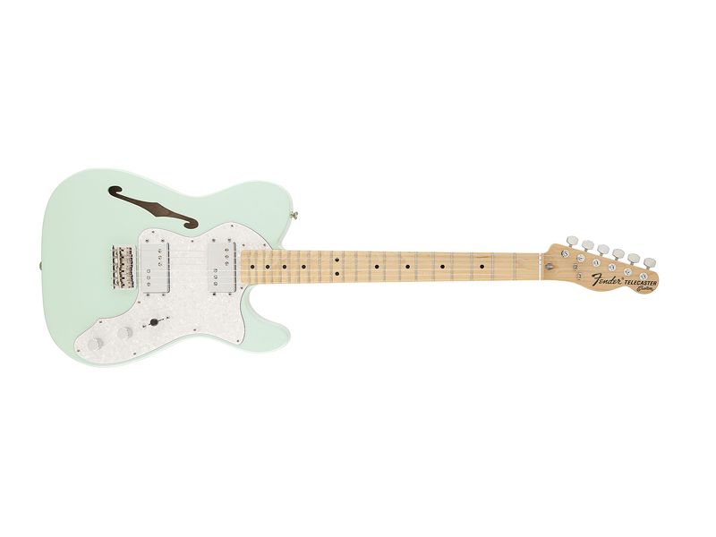 Fender Special Edition 72´ Tele Thinline Surf Green | Kytary typu Tele - 1