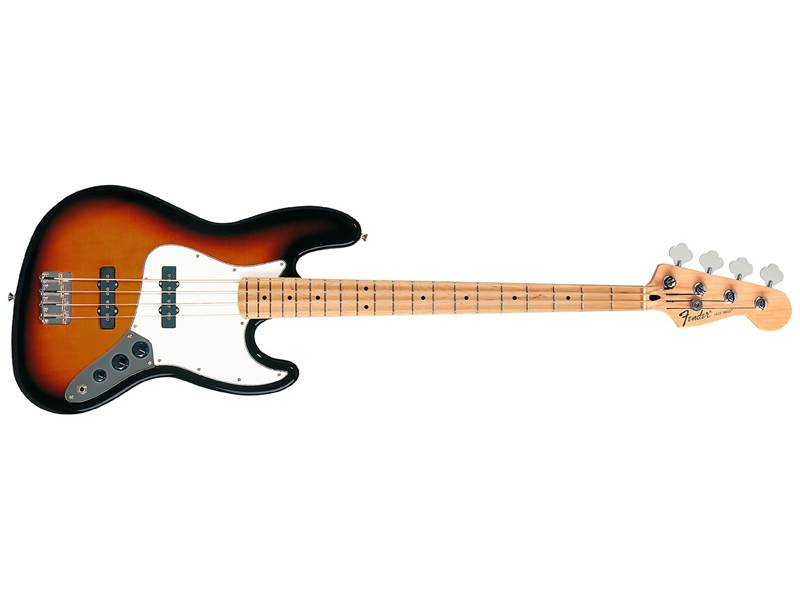 FENDER Standard Jazz Bass MN BSB maple neck brown sunburst | Čtyřstrunné baskytary - 1