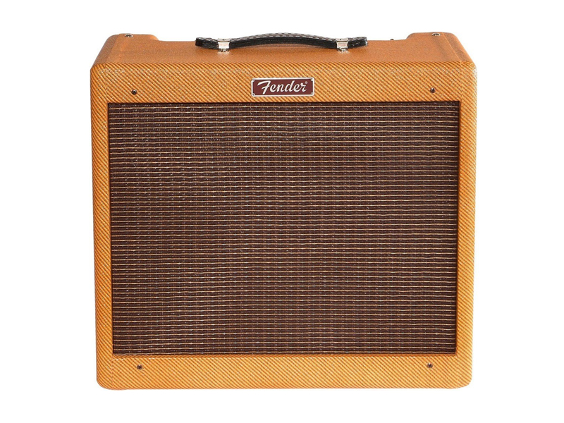 FENDER Blues Junior LTD C12-N Lacquered Tweed (POŠKOZENÉ) | Celolampová komba - 1