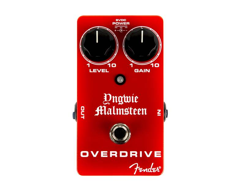 Fender Malmsteen Overdrive - Yngwie Malmsteen signature Overdrive | Overdrive, Distortion, Fuzz, Boost - 1