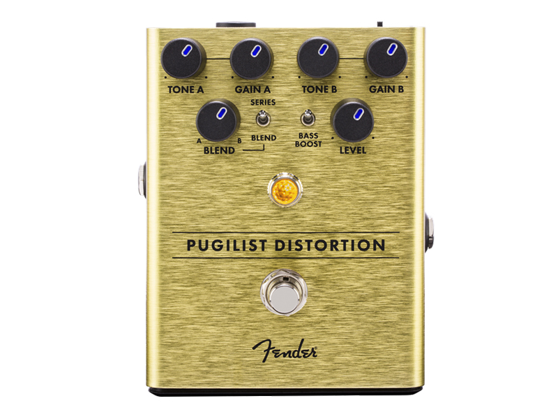 FENDER Pugilist Distortion Pedal | Overdrive, Distortion, Fuzz, Boost - 1