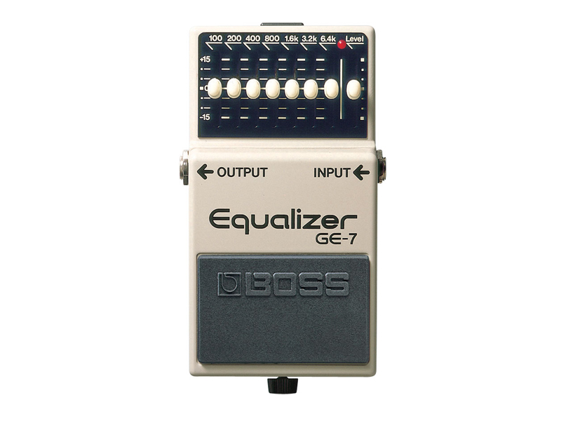 BOSS GE-7 BAND GRAPHIC EQUALIZER | Ekvalizery - 1