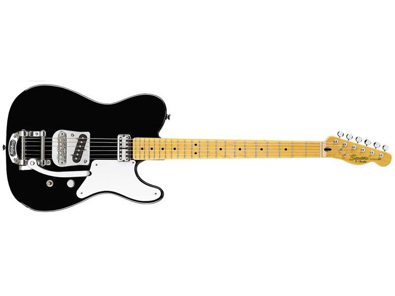 FENDER Squier Vintage Modified Carbonita Tele with Bigsby | Kytary typu Tele - 1
