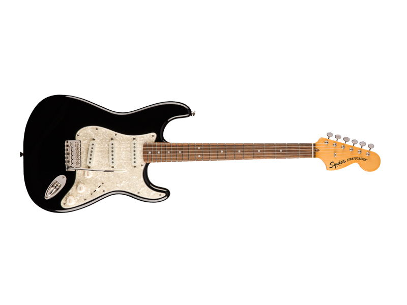 FENDER Squier Classic Vibe '70s Stratocaster, Laurel Fingerboard, Black | Kytary typu Strat - 1