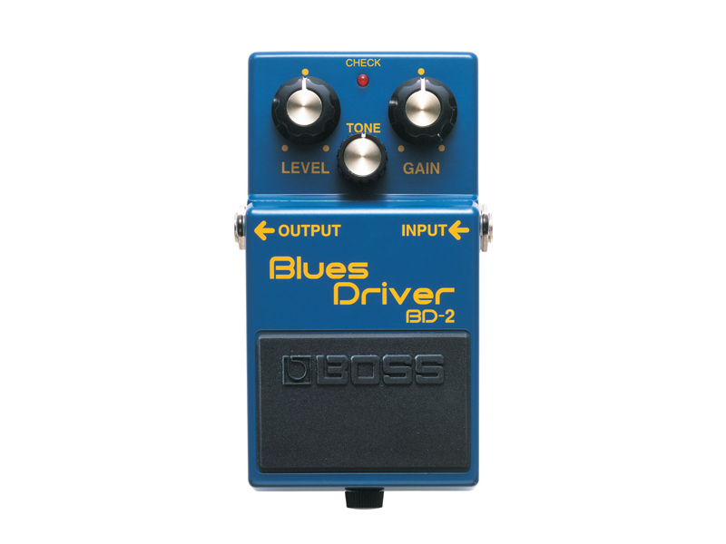 BOSS BD-2 BLUES DRIVER | Overdrive, Distortion, Fuzz, Boost - 1