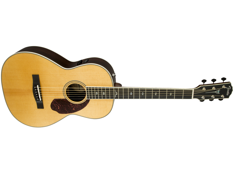 FENDER PM-2 DELUXE PARLOR NATURAL | Orchestra, Auditorium - 1