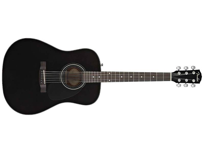 FENDER CD-60 BK-DS-v2 akustická kytara black | Dreadnought - 1