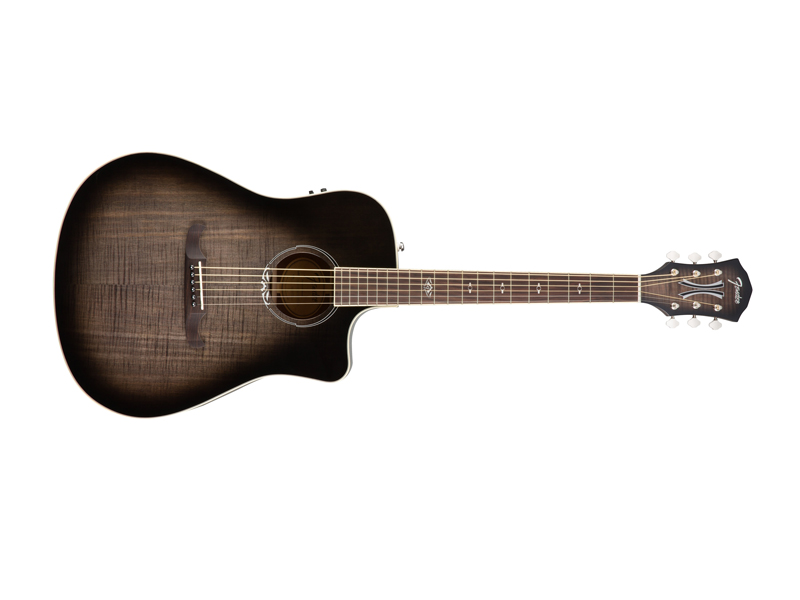 FENDER T-BUCKET 300-CE FLM MPL MLB | Dreadnought - 1