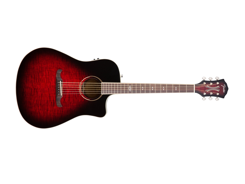 FENDER T-BUCKET 300-CE FLM MPL TCS | Dreadnought - 1