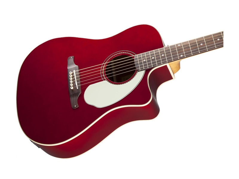 FENDER Sonoran SCE Candy Apple Red v2 | Dreadnought - 3