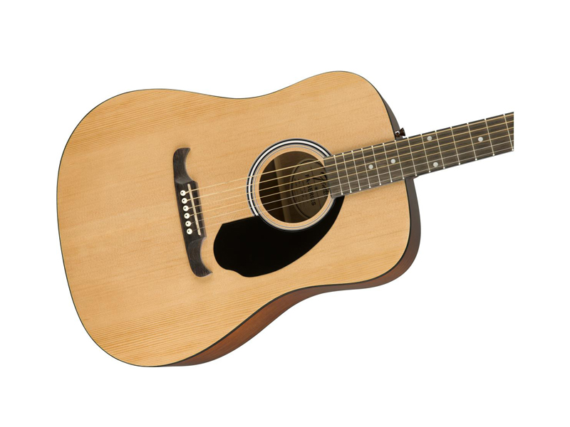 FENDER FA-125 Dreadnought Acoustic, Natural | Dreadnought - 3