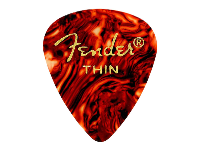 FENDER trsátko 351 Classic Celluloid,12 ks Thin Shell | Trsátka - 1