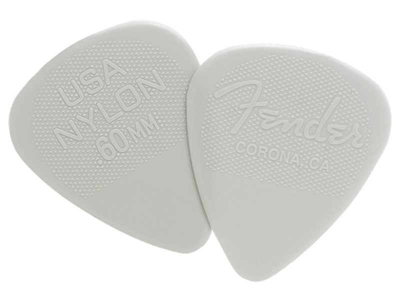 Fender trsátko Fender Nylon Pick 12 ks 1/2 Gross 0.60 | Trsátka - 1
