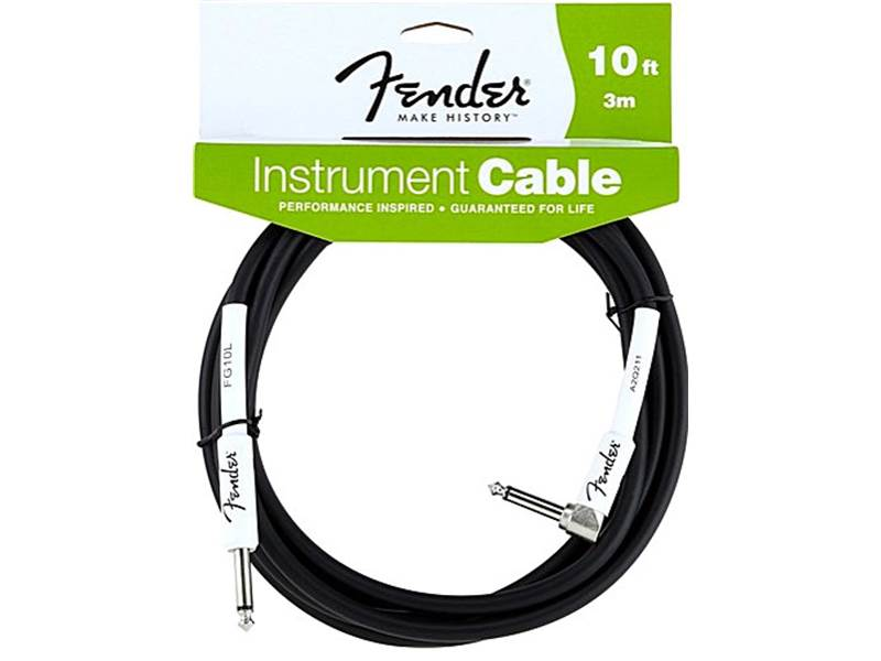 FENDER kabel Performance Instrument Cable Angled 10 ft. 3m | Kabelové propojky - 1