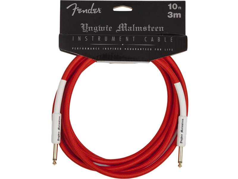 FENDER kabel Yngwie Malmsteen Instrument Cable 3 m | 3m - 1