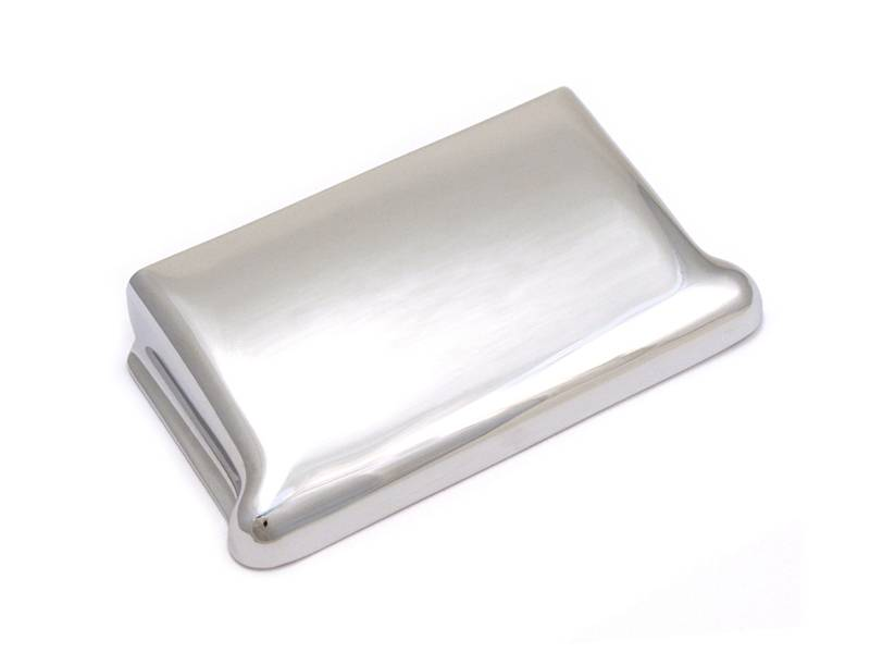 FENDER Bridge Cover Vintage Strat Chrome | Kobylky a Tremola - 1