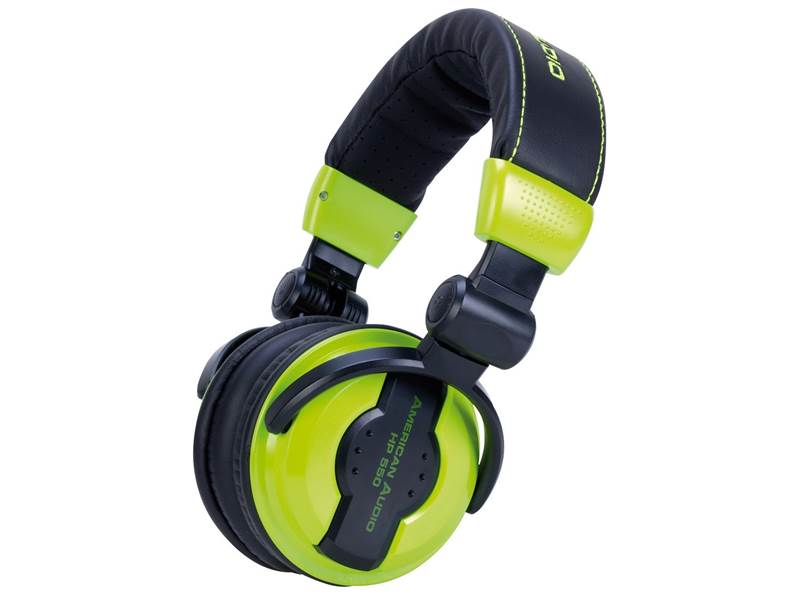American Audio HP550 Lime | DJ sluchátka - 1