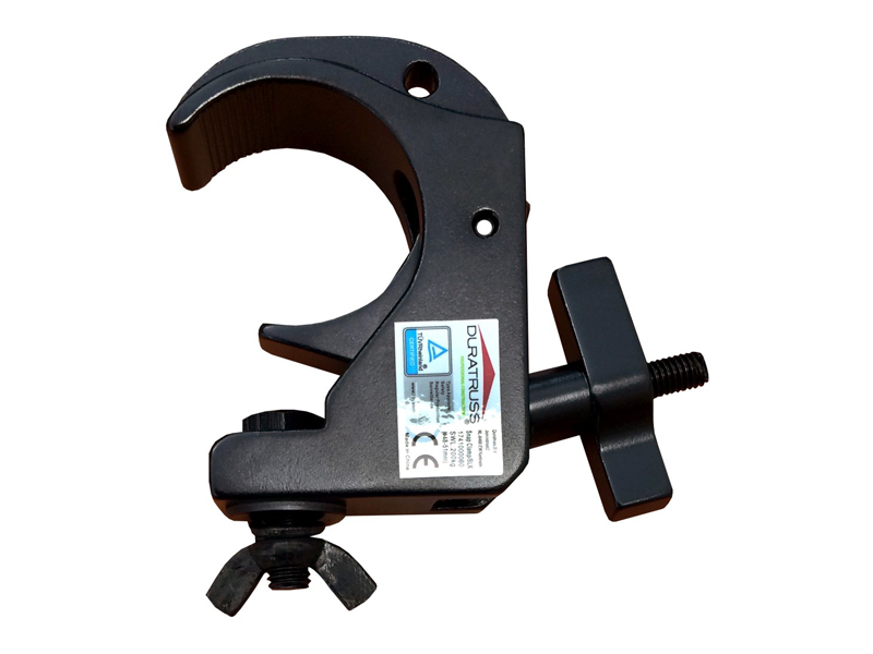 DURATRUSS Snap Clamp Black | Háky - 1