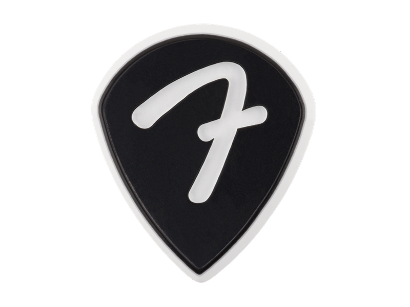 Fender F Grip 551 Picks, Black, 3 Pack | Trsátka - 1