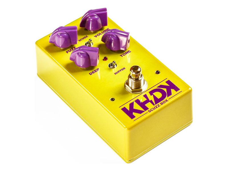 KHDK Scuzz Box | Overdrive, Distortion, Fuzz, Boost - 1