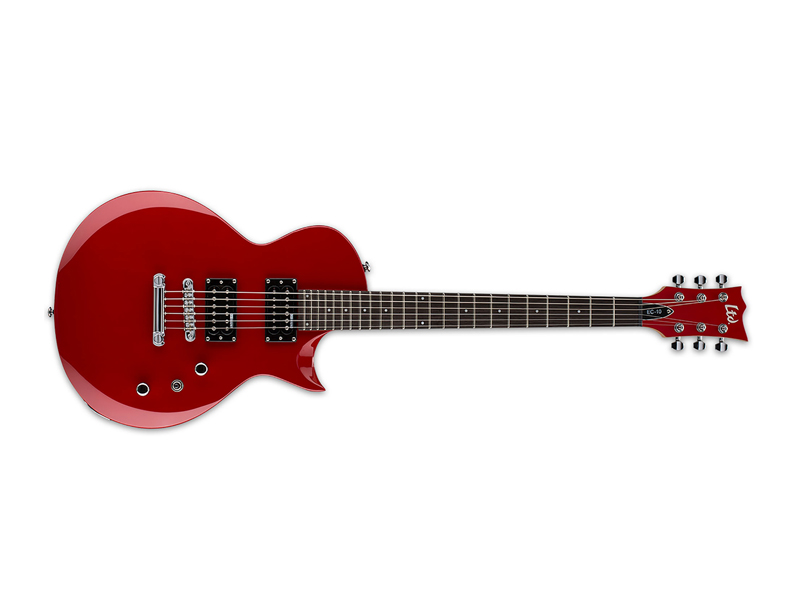 ESP LTD EC-10 KIT Red | Kytary typu Les Paul - 1