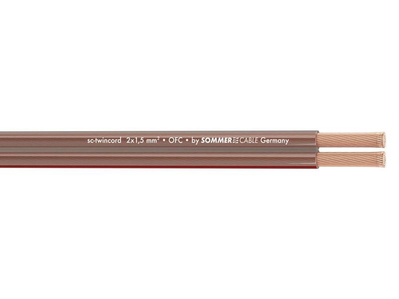 Sommer Cable 400-0150 TWINCORD 2x1,5 | Reproduktorové kabely - 1