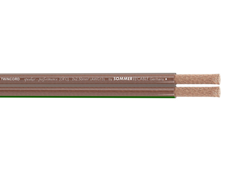 Sommer Cable 400-0250 TWINCORD 2x2,5 | Reproduktorové kabely - 1