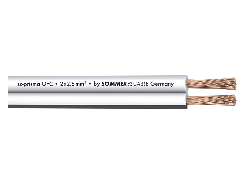 Sommer Cable 401-0250-WS PRISMA | Reproduktorové kabely - 1