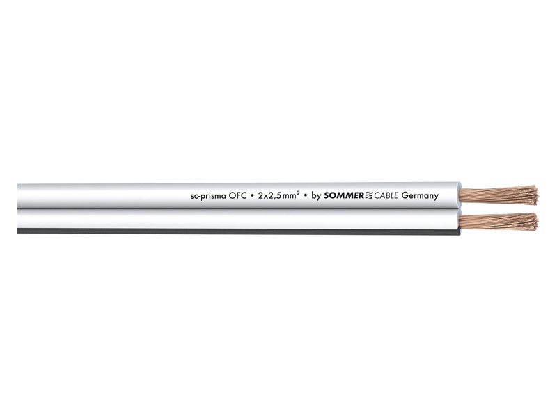 Sommer Cable 401-0250-WS PRISMA | Reproduktorové kabely - 2