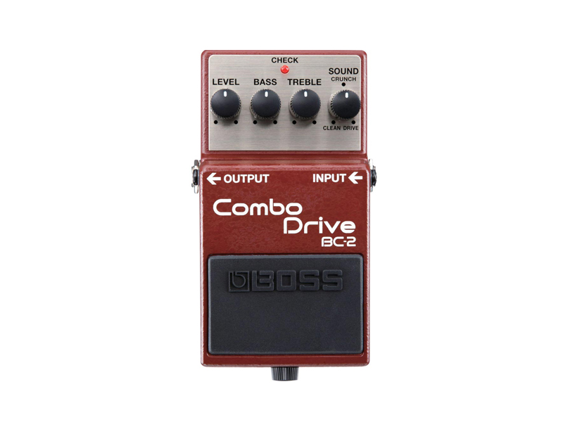 BOSS BC-2 | Overdrive, Distortion, Fuzz, Boost - 1
