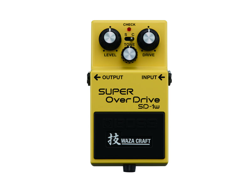 BOSS SD-1W SUPEROVERDRIVE | Overdrive, Distortion, Fuzz, Boost - 1
