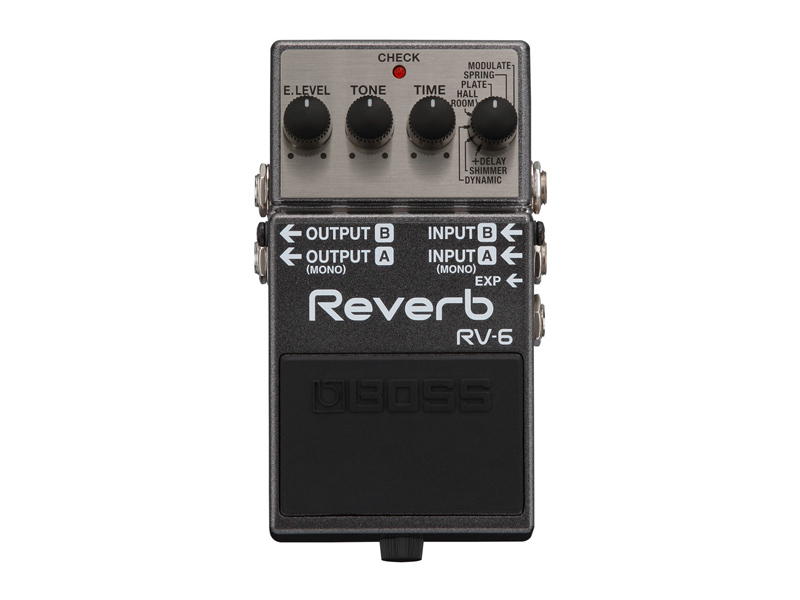 BOSS RV-6 REVERB | Reverb, Hall - 1