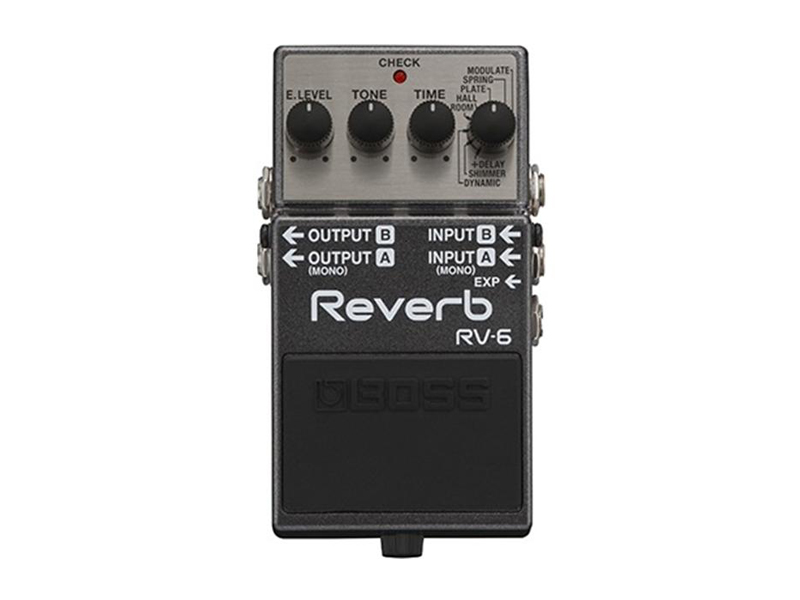 BOSS RV-6 REVERB | Reverb, Hall - 2