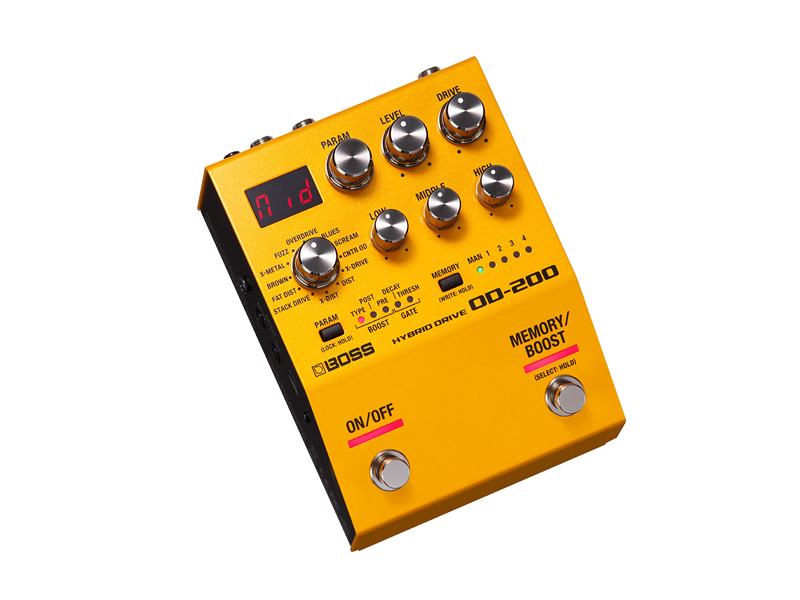 BOSS OD-200 Hybrid Drive | Overdrive, Distortion, Fuzz, Boost - 2