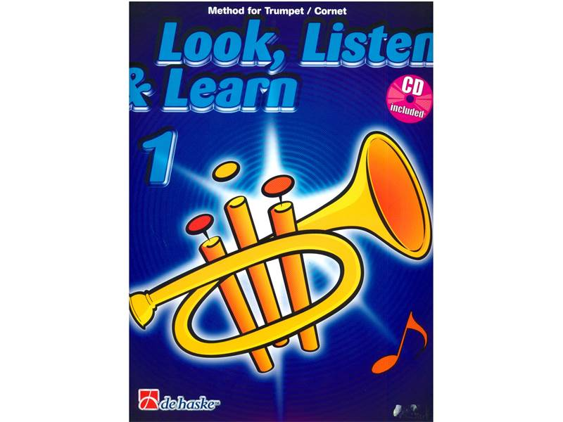 LOOK, LISTEN & LEARN 1 + CD method for trumpet | Školy hry na trubku - 1