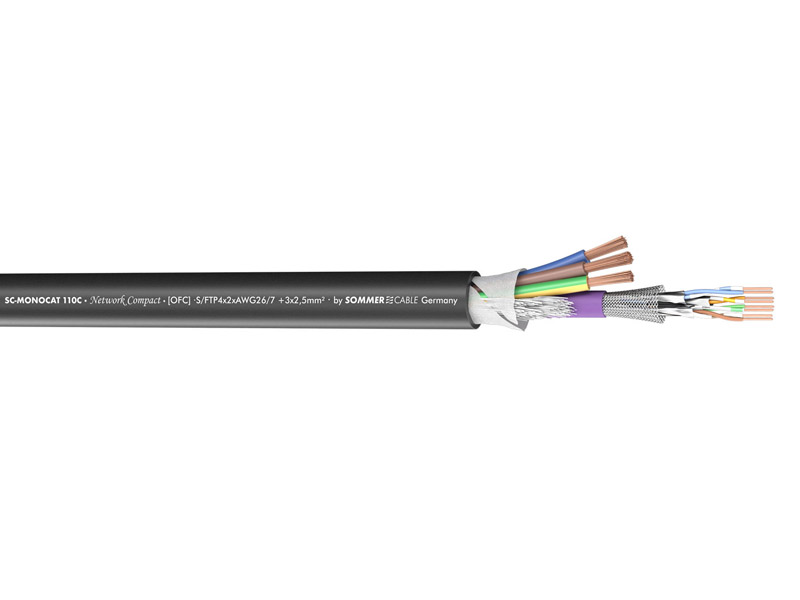 Sommer Cable 500-0151-1 MONOCAT 110C | Datové kabely - 2