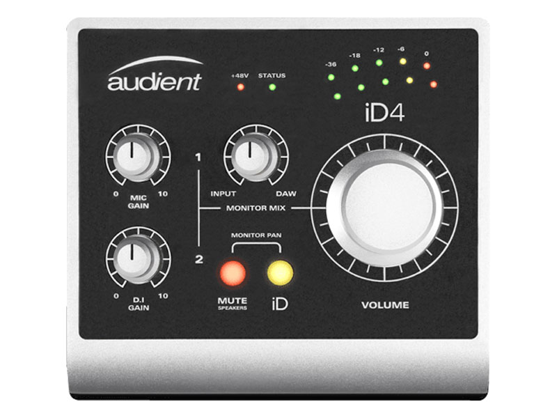AUDIENT iD4 USB High Performance interface | Zvukové karty, Audio Interface - 1