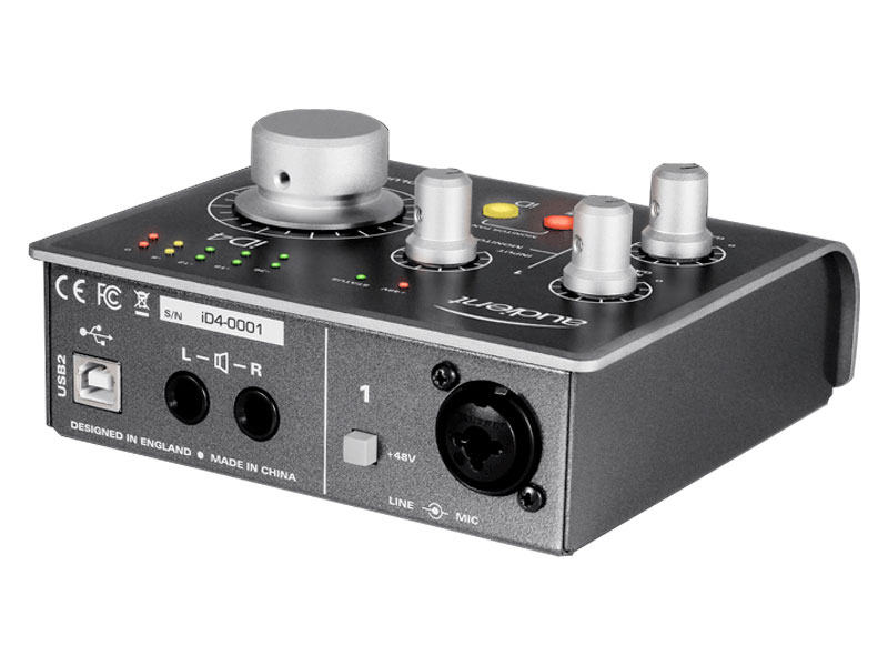 AUDIENT iD4 USB High Performance interface | Zvukové karty, Audio Interface - 5