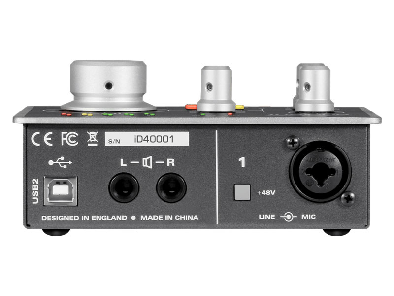 AUDIENT iD4 USB High Performance interface | Zvukové karty, Audio Interface - 6