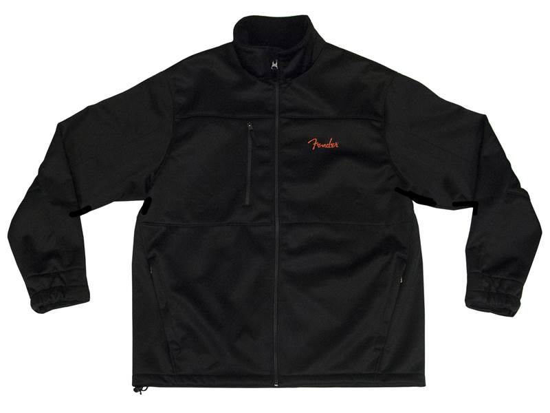 FENDER bunda LS Fleece Lined Black vel. L | Mikiny - 1