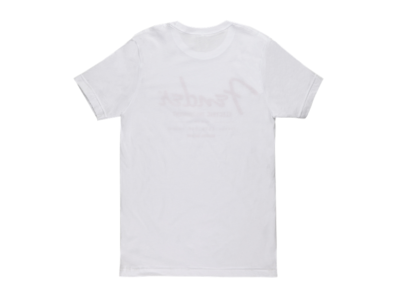 FENDER Electric Instruments Mens T-Shirt, White, L | Trička L - 2