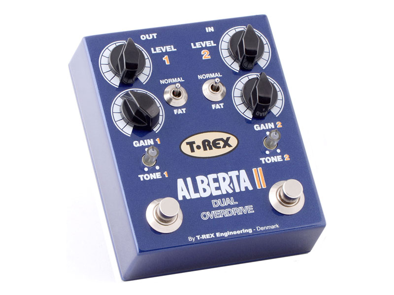 T-Rex Alberta II | Overdrive, Distortion, Fuzz, Boost - 1