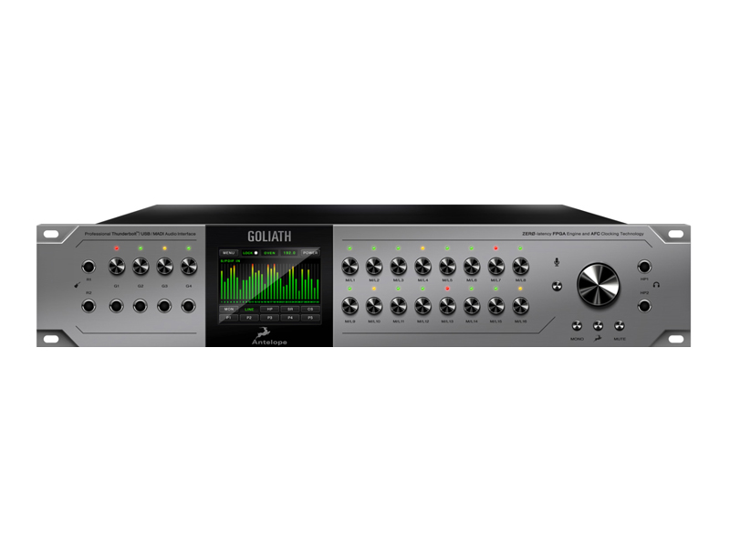 Antelope Audio Goliath Thunderbolt, USB a MADI audio interface | Zvukové karty, Audio Interface - 1