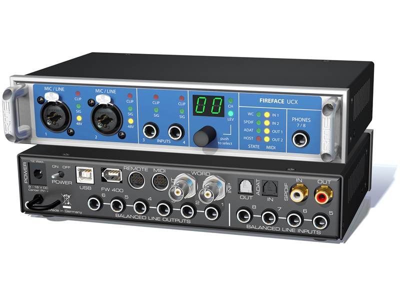 RME Fireface UCX | Zvukové karty, Audio Interface - 1