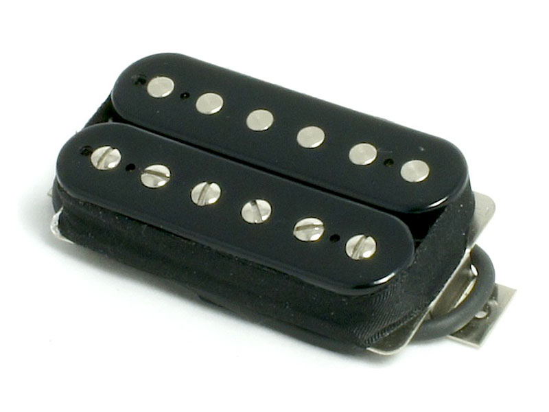 Bare Knuckle Nailbomb open bridge Humbucker Black | Snímače Humbucker - 2