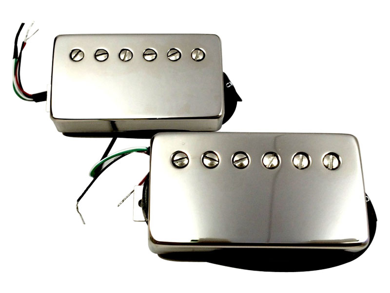 Bare Knuckle Rebel Yell calibrated nickel covered set Humbucker | Sady snímačů - 1
